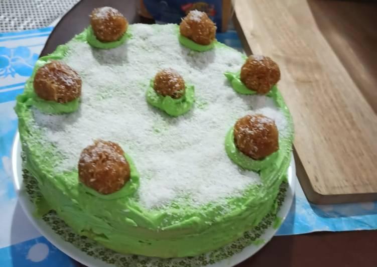 Klepon Cake Kukus