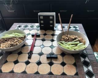 My take on Sesame Noodles