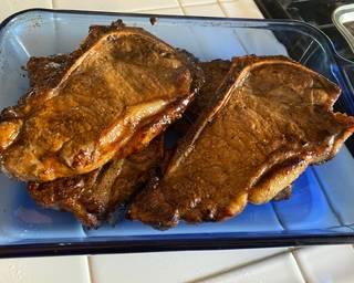 Mongolian Glazed Steak
