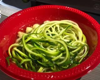 Seared Chicken w/ Zucchini Noodle Al Pastor Bowl