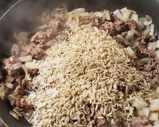 Layered Cabbage Roll Casserole