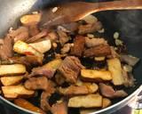 銅板家常菜:蔥爆豆乾炒肉絲食譜步驟2照片