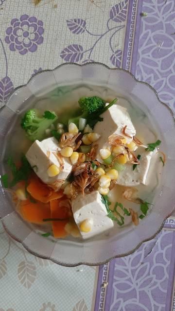 Resep Sup Tahu Putih : resep, putih, Resep, Putih, Sayuran, Remas.nu