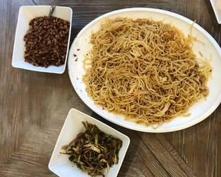 Shanghai Scallion Noodles