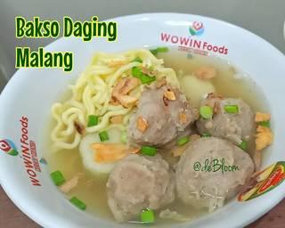 Bakso Daging Malang (Oskab NGalam) Super Praktis