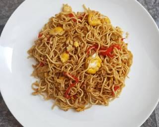 Aunt's Fried Noodle Recipe
