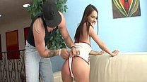 Erin Stone is pleased as punch to have her tight
