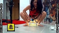 Juliet Uncensored Reality TV Season 1A Episode 4 - Real Funny Amateur PISSING Asian Model Behind The Scenes