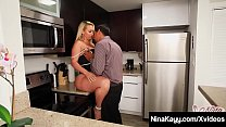 Thick Ass Nina Kayy has an affair with Mr. Juan, who stuffs her plump pussy with his hard Latino Cock while special agent Sara Jay records all as evidence! Full Video & Nina Live @ NinaKayy.com!