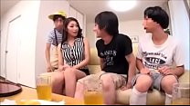 Japanese mom threesome