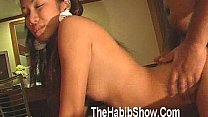 19 year old Ms Thailand Pussy wannabe Married gets fucked by hairy arab