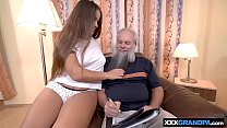 hot sex with grandpa