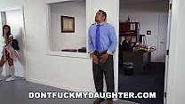 DONTFUCKMYDAUGHTER - Employer's Latin Offspring Victoria Valencia Seduces JD, Gets Him Fired!