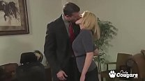 The Office Cougar Bangs Her Way To The Top