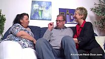 Bokep Older couple have a threesome with a fat brunette