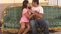 Javrar.us Small-titted Jizz Guzzler Are Kissing With A Rod On The Living Room