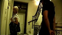 Sexy blonde getting robbed