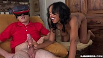 BANGBROS - Super Hot Cyber Sex with Brown Bunnies Starlet Anya Ivy