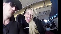 blowjob in a    airplane