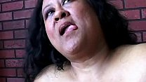 Super sized BBW fucks her soaking wet pussy for you