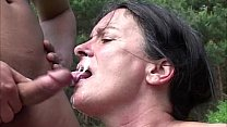Hardcore Outdoor Fucking With Mature