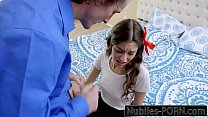 Nubiles Porn - Young Latina Must Please Her Step Dad