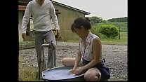 Japanese housewife cheating with husband best friend