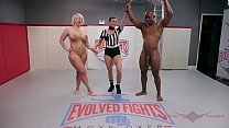 Bokep Alura Jenson and WIll Tile go at their wrestling match only like the Navy and Marines can