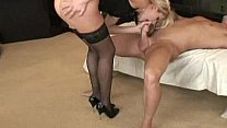 Hot Blonde Trophy Wife Samantha Seduced & Banged