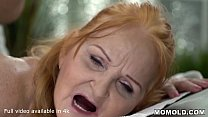 Surprise Happy Ending Massage for Horny Bored Granny