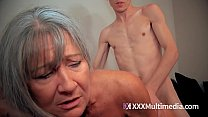 Granny fucked by grandson