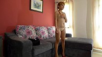 Casting couch audition for Asian blond