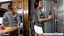Bokep Jessica Jaymes getting drilled in the kitchen