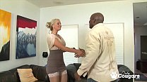 MILF Gets Ass Fucked By A Big Black Cock