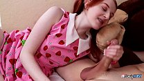 Krystal orchid gets a large cock impaled into her tiny hole from step brother