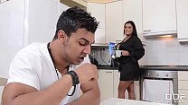 Busty Step Mom Jasmine Black gets Deeply Fucked by Son