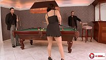 Liza Del Sierra Group Anal Sex In The Billiards Salloon HD Porn; anal, group, hardcore, pornstar, th