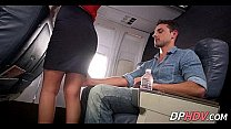 Slutty flight attendant 4 1