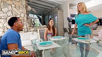 BANGBROS - Monsters Of Cock Interracial Threesome With Riley Reid And Her Stepmom