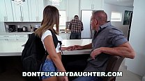 Bokep DON'T FUCK MY DAUGHTER - Slutty Teen Sneaking Around With Daddy's Friend