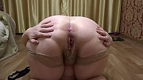 Bokep Busty mature BBW with a juicy butt shows chic shapes and fingering clitoris.