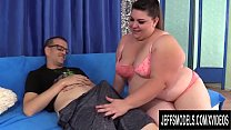 BBW Bella Bendz Anal Fuck and Facial