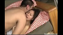 Asian amateur with big tits fucked by her boyfriend