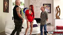 Redhead MILF smashed by inked hunk