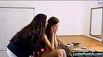 (kirsten madi) Lesbo Girl Get Punish With Dildos By Nasty Mean Lez clip-26