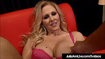 Busty MILF Julia Ann Loves To Give POV Blowjobs!