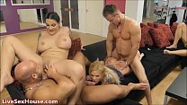 Group sex in reality show