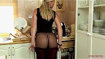 stepmother with perfect body