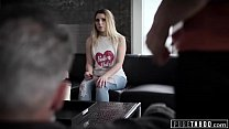 Dirty Old Man Corrupts 2 Bratty Teens for Pure Taboo!