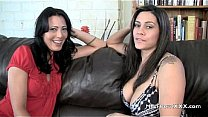 Two MILFs tell you how to jerk off